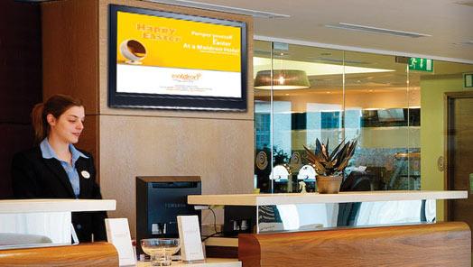 Einsatz von Digital Signage (DS) in Hotels