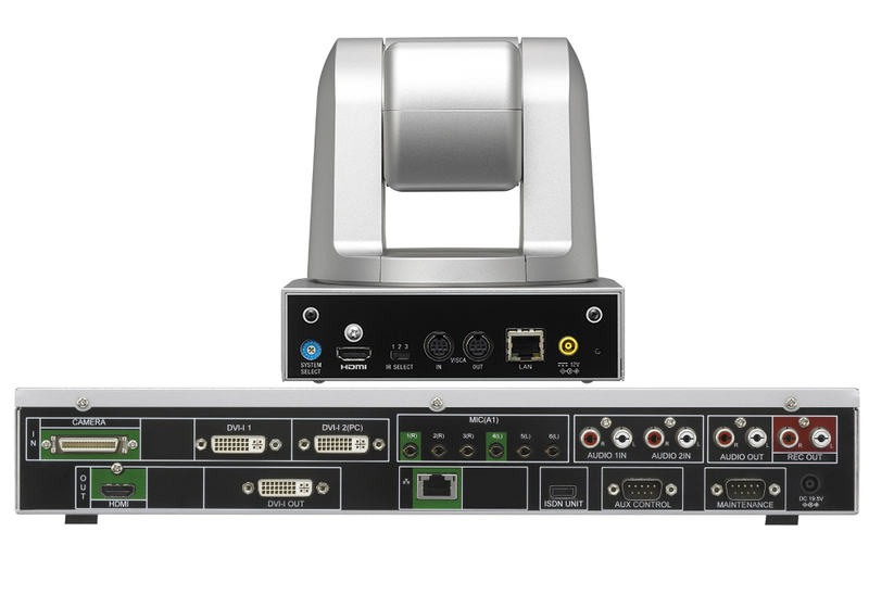 Sony Videokonferenzsystem XG77H-Rückseite